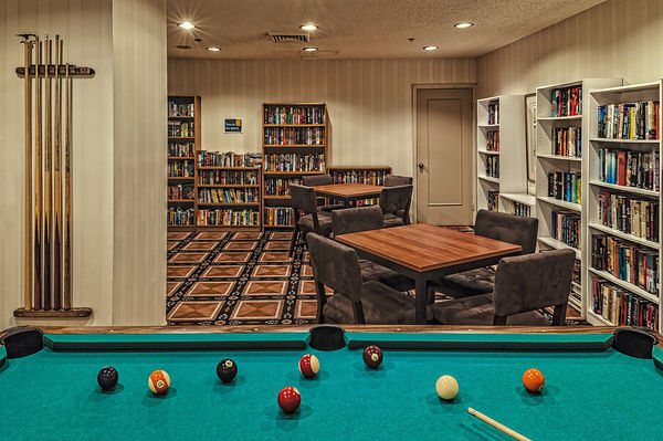 Recreation Room & Library